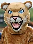 Meet Monty the Mountain Lion, our school mascot!